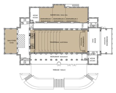 Plan Kongresshaus Bad Ischl
